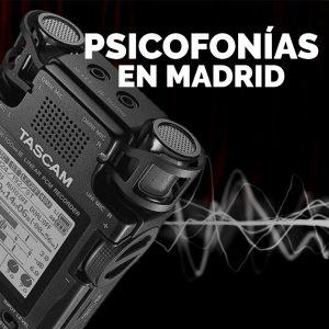 Noche de psicofonías en Madrid