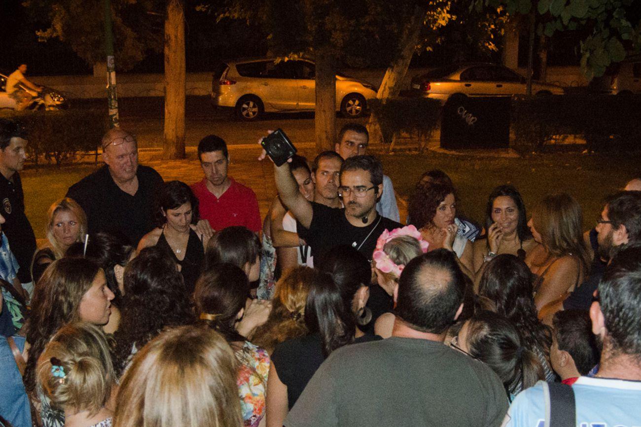 Noche de psicofonías en Málaga