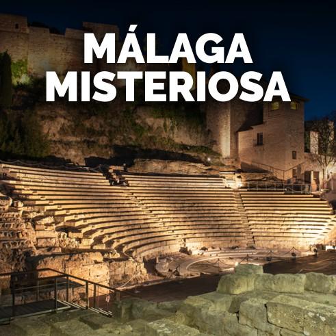 tour nocturno Malaga Misteriosa